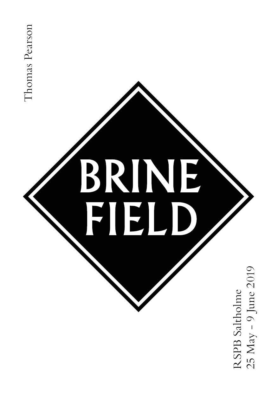 Thomas Pearson - Brine Field (poetry)